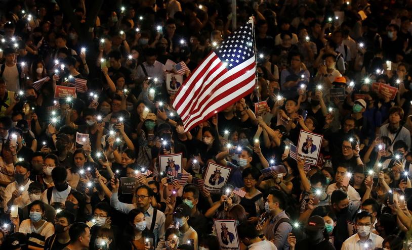 Weekend Focus: สหรัฐฯ ผ่านกม.หนุน 'ม็อบฮ่องกง' จีนกร้าวมะกันควรหยุด 'แทรกแซง'