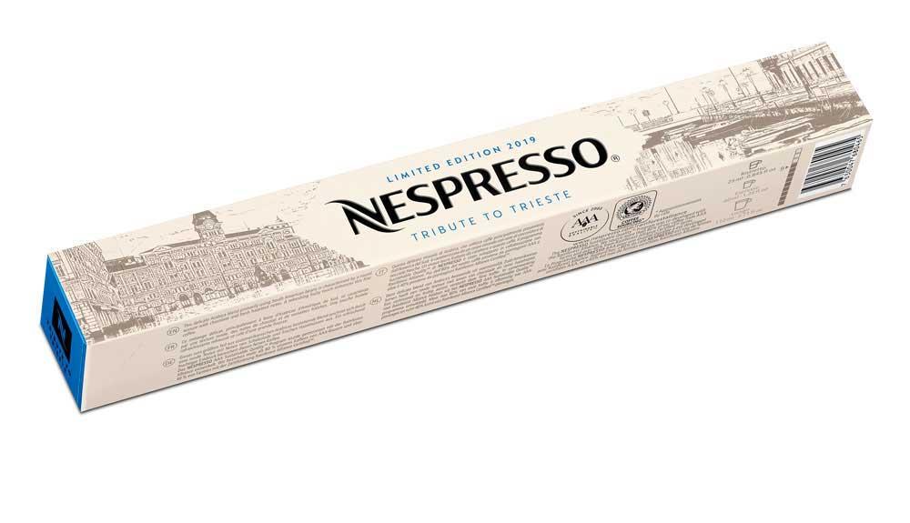 """""""เนสเพรสโซ"""" นำกาแฟลิมิเต็ดอิดิชั่น Tribute to Milano และTribute to Trieste ให้คอกาแฟได้ดื่มด่ำรสชาติ"""
