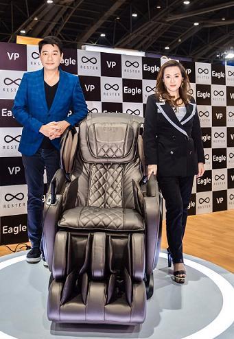 Rester ส่ง VP เก้าอี้นวดรุ่นใหม่ เจาะกลุ่มออฟฟิศซินโดรม