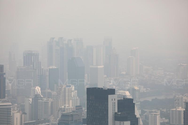 กลับมาอีกแล้วฝุ่นพิษ PM 2.5 เผยไม่ใช่หมอกเช้านี้ กทม. ค่าเกินมาตรฐาน 7 พื้นที่