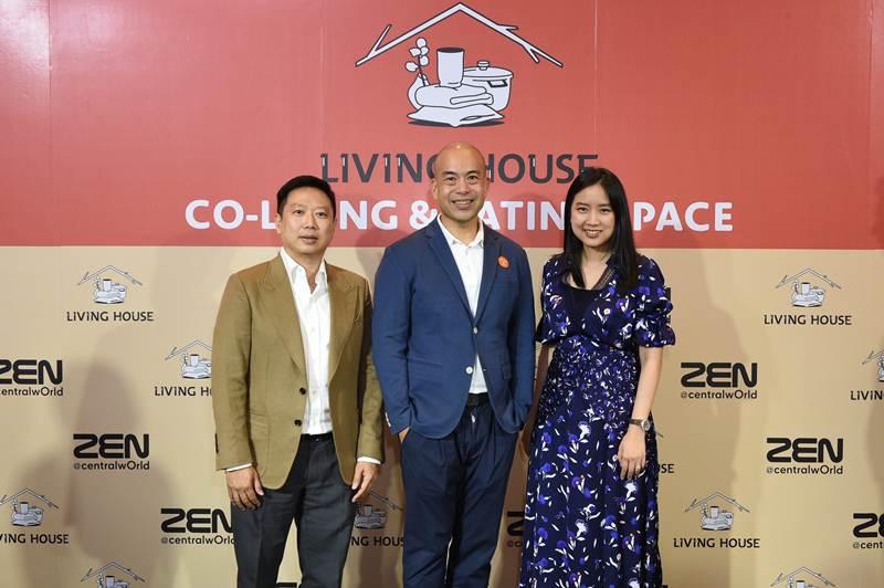 """เซเลบร่วมเปิด """"Living House"""" Co-Living & Eating Space พื้นที่ความสุขของคนรุ่นใหม่"""