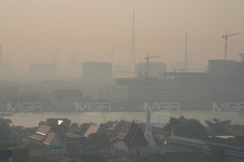 ฝุ่น PM2.5 กลับเกินเกณฑ์มาตรฐาน 15 สถานี เริ่มกระทบสุขภาพ