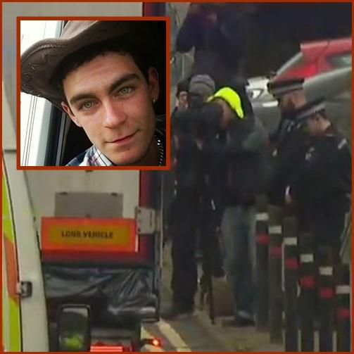 """In Pics&Clip: ตำรวจอังกฤษบุกค้นบ้านคนขับรถตู้คอนเทนเนอร์ใน """"ไอร์แลนด์เหนือ"""" ขน 39 ศพ ชี้ผู้อพยพหนาวตายในห้องเย็นติดลบ 25 องศา"""