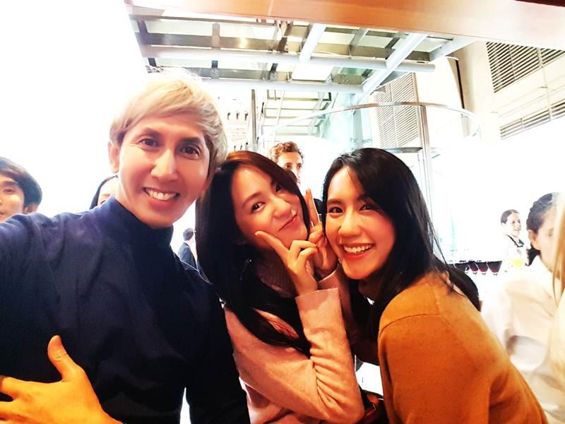 บรรณาธิการบริหาร Celeb Online กับสอง Net Idols ชื่อดัง น้องเมย์อาร์และน้องพิมฐา
