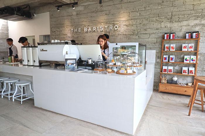 ภายในร้าน The Baristro