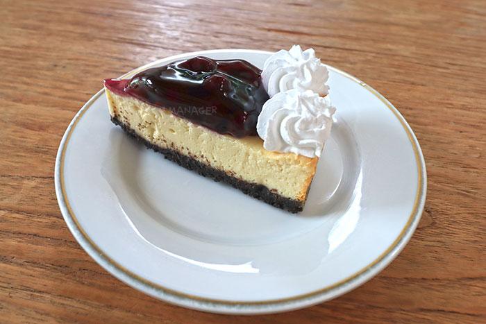 บลูเบอร์รี่ ชีสเค้ก
