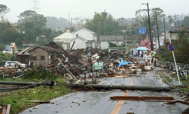 ฝนถล่มซ้ำพื้นที่ประสบภัยไต้ฝุนฮากิบิสในญี่ปุ่น ตาย1ศพสั่งอพยพหลายแสนคน