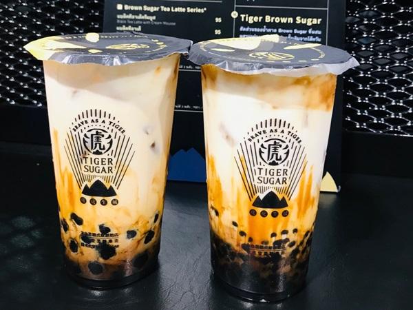 เปิดแล้ว! Tiger Sugar ชานมไข่มุกแบรนด์ดังจากไต้หวัน สาขาเซ็นทรัล ป่าตอง