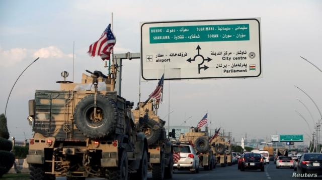 """รัสเซียโวย! สหรัฐฯ อ้างความมั่นคง เพิ่มกำลังทหารปกป้อง """"กลุ่มค้าน้ำมันเถื่อน"""" ในซีเรีย"""