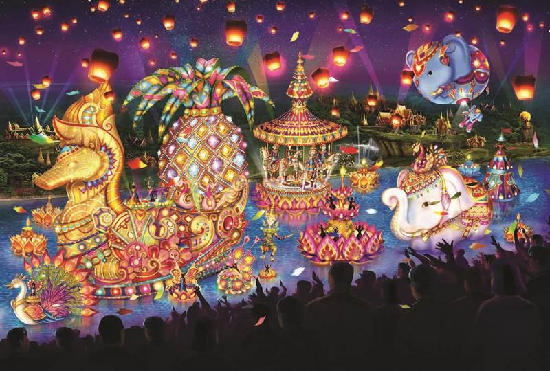 การแสดง River Carnival Parade