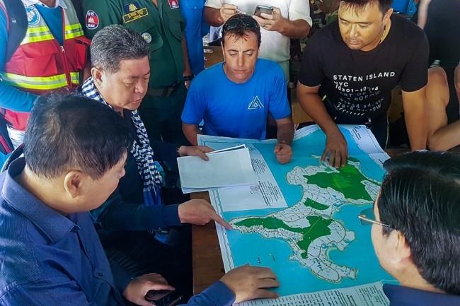 กัมพูชาระดมทหาร-นักประดาน้ำออกค้นหานักท่องเที่ยวอังกฤษ หลังหายตัวนาน 4 วัน