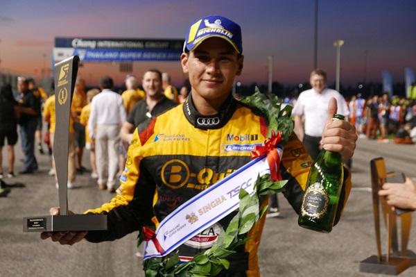 """""""แซนดี้"""" ซิ่งสุดแรง ซิวแชมป์ไทยแลนด์ ซูเปอร์ซีรีส์"""
