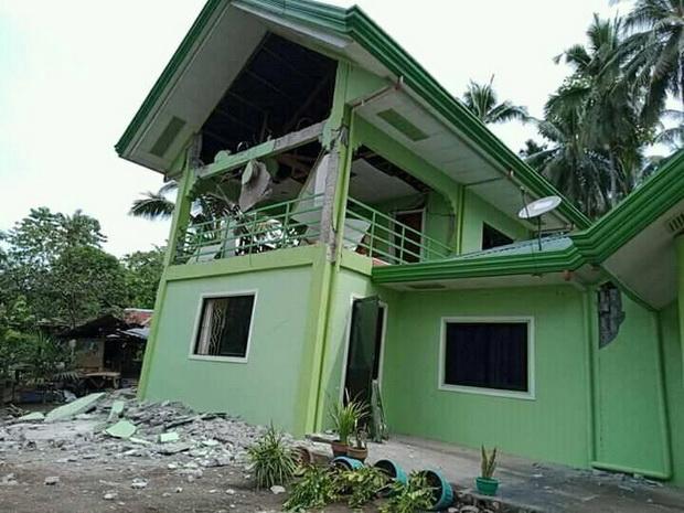 ตายเพิ่มเป็น6ศพสังเวยแผ่นดินไหวรุนแรงฟิลิปปินส์ เสียหายในวงกว้าง