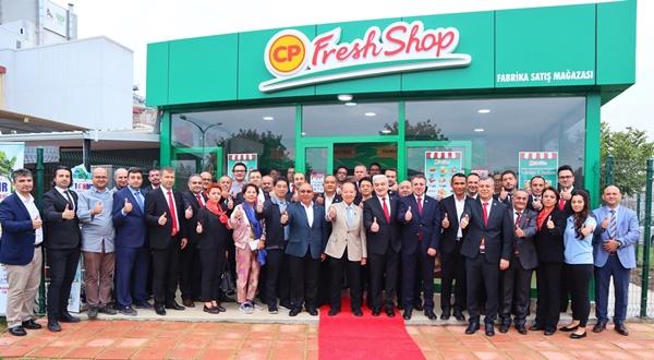 ซีพี ตุรกี ฉลองเปิด CP Fresh Shop สาขาแรกในประเทศตุรกี
