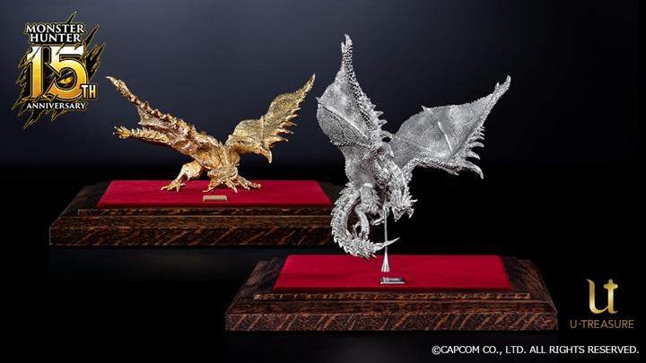 """แคปคอมเปิดขายมังกรทอง """"Monster Hunter"""" ตัวละ 2.4 ล้านบาท"""