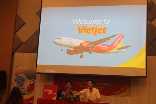 ตอกย้ำผู้โดยสารตรึม..เวียตเจ็ทเปิดบินเชียงราย-อุดรฯ เพิ่มเที่ยวบินกรุงเทพฯ อีก