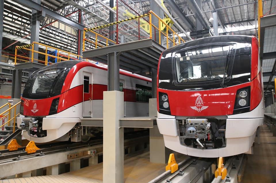 เปิดเดปโป้!เริ่มทดสอบรถไฟสายสีแดง กลางปี 63 ครบ 25 ขบวน ให้บริการ ม.ค. 64