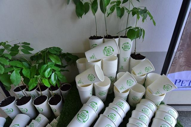 zero–waste cup นำมารียูส ปลูกต้นกล้าได้โดยไม่ต้องเอาแก้วออกให้เหลือเป็นขยะเหมือนถุงพลาสติก