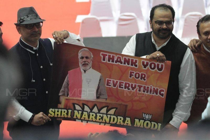 นายกฯอินเดียปราศรัยพบปะชาวอินเดียในประเทศไทยที่สนามกีฬาแห่งชาติ