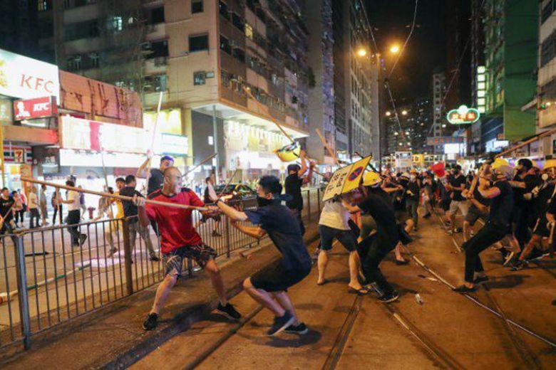 สถานกงสุลใหญ่ ณ เมืองฮ่องกง เตือนคนไทยในฮ่องกง เลี่ยง 7 ย่าน เสียงเกิดเหตุประท้วง