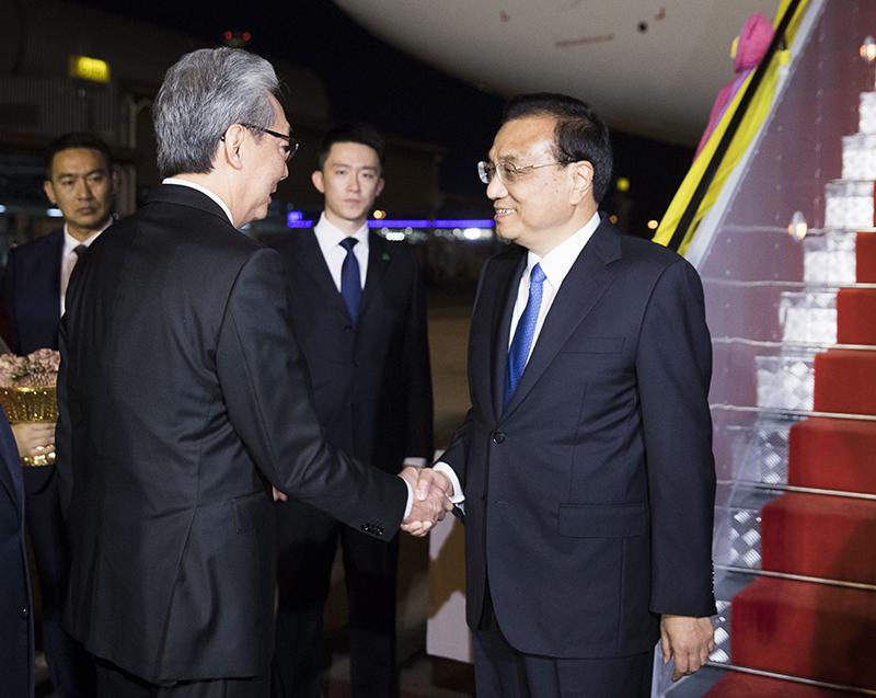 """""""หลี่ เค่อเฉียง"""" ถกอาเซียน หวังร่วมมือยกรับดับ ศก.รักษาสันติภาพ ดันไทย-จีนพี่น้องแน่นแฟ้นกว่าเดิม"""