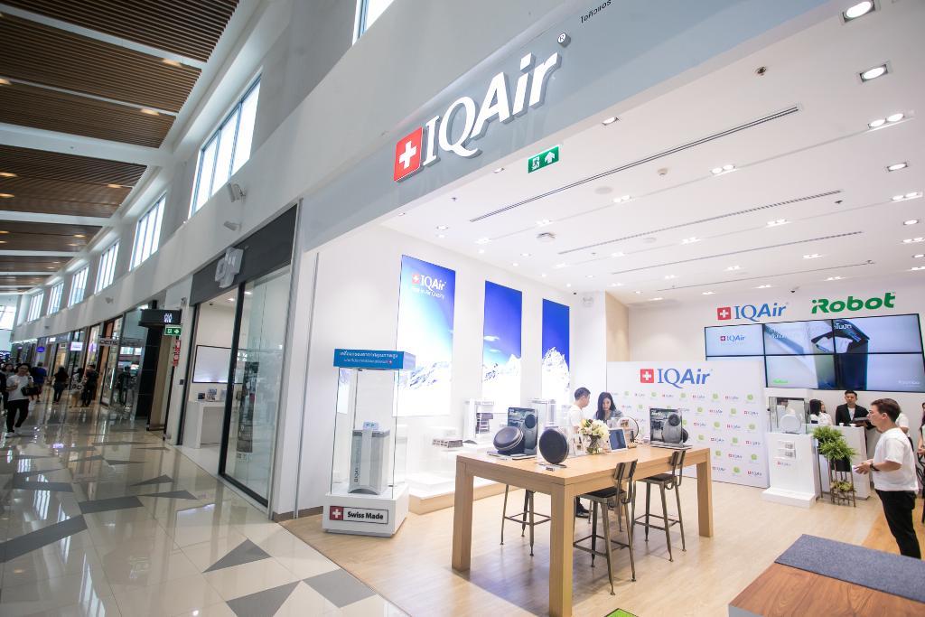 ร้าน IQAir สาขาแรกที่เมกา บางนา