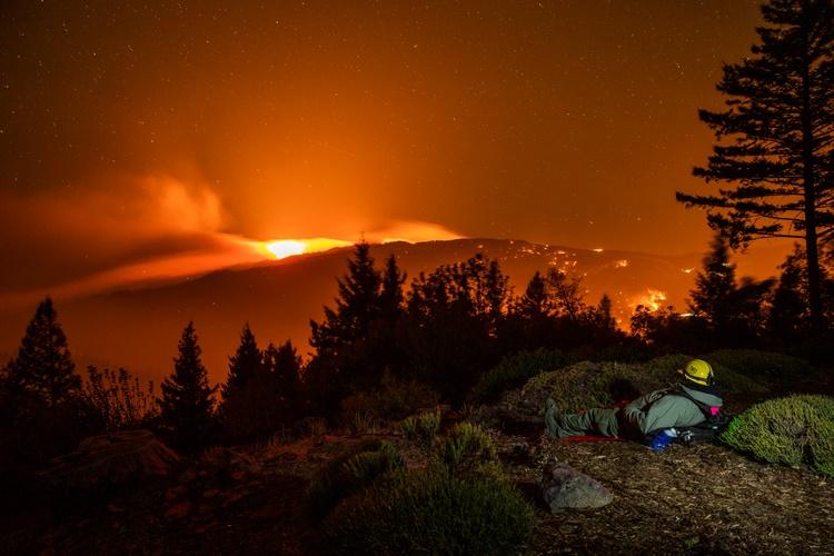 ไฟป่า... ภัยร้ายในแคลิฟอร์เนีย