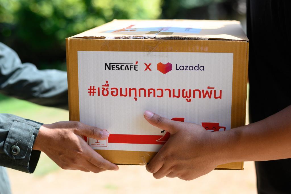 เนสกาแฟ มอบชุดกาแฟเชื่อมทุกความผูกพัน ส่งต่อความห่วงใยจากคนไทย  ให้ตำรวจตระเวนชายแดนทั่วประเทศ