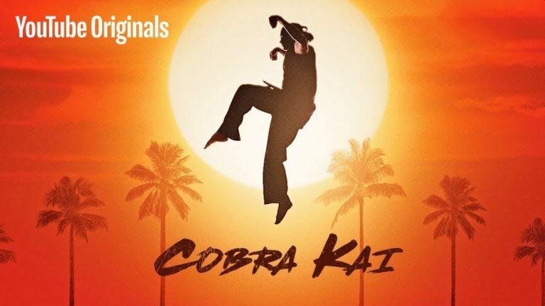 Cobra Kai หนึ่งในรายการเอ็กซ์คลูซีฟ YouTube Originals ซึ่งเป็นซี่รี่ส์ภาคต่อของ The Karate Kid ซี่รี่ส์หนังในตำนานจากยุค1980s