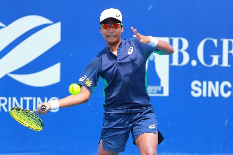 มนัญชญา สว่างแก้ว นักเทนนิสดาวรุ่งไทย