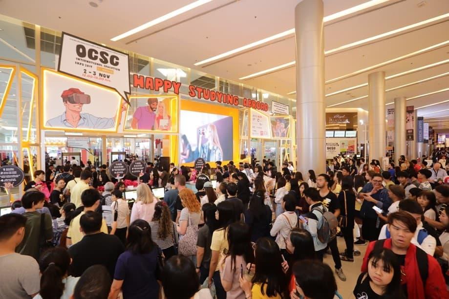 ก.พ.ปลื้ม คนแห่เข้าชมงาน OCSC EXPO 2019 คับคั่ง