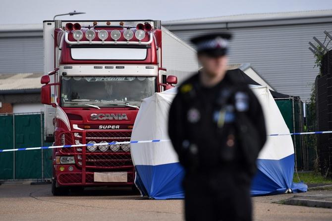 ผลตรวจยืนยันเหยื่อทั้ง39ศพบนรถบรรทุกแช่แข็งลอนดอนเป็น'คนเวียดนาม'