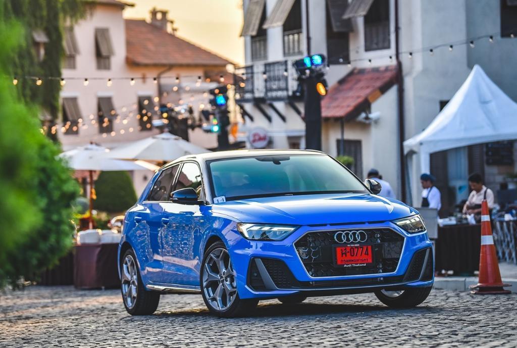 Audi A1 Sportback เล็ก เร้าใจ แรงสมตัว