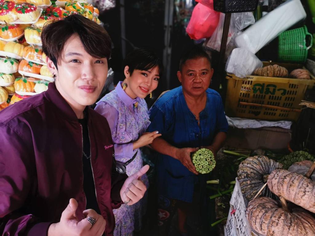 """""""แกงส้ม-ลุลา""""  โชว์สกิลทำกระทง สืบสานประเพณีไทย ชมภาพสุดคิ้วท์ในรายการ """"ไนน์เอ็นฯ"""" จันทร์ที่ 11 พ.ย. นี้"""