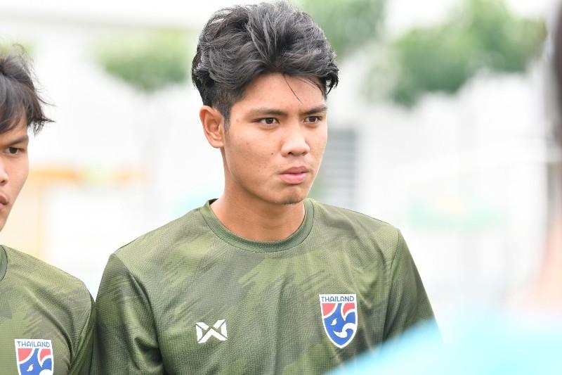 ทรงชัย ทองฉ่ำ กองหลังทีมชาติไทยรุ่นอายุไม่เกิน 19 ปี