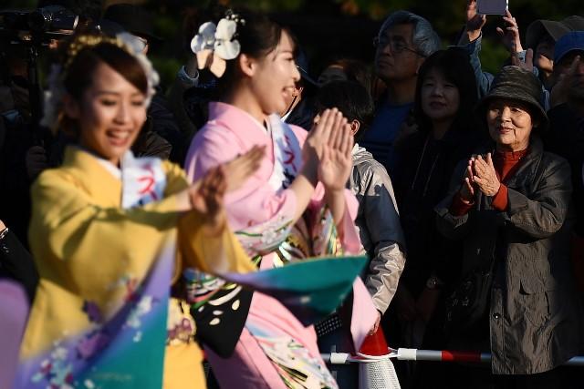 ชาวญี่ปุ่นหลายหมื่นร่วมงานฉลองขึ้นครองราชย์สมเด็จพระจักรพรรดิ