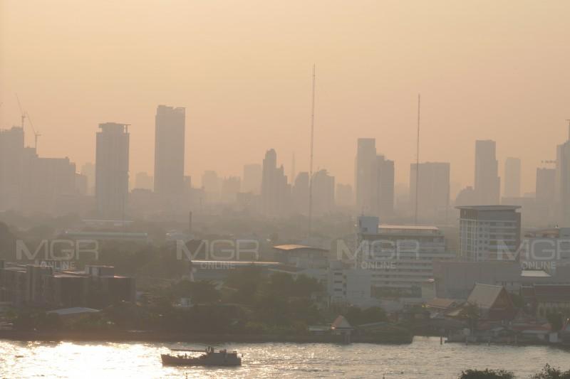 กทม.-ปริมณฑลฝุ่นพุ่ง PM 2.5 ฟุ้งวันลอยกระทง พบ 19 จุดเกินค่ามาตรฐาน