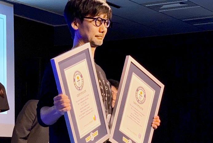 """""""โคจิมะ"""" ขึ้นแท่นอันดับหนึ่ง เกมไดเร็กเตอร์ ที่มียอดผู้ติดตามสูงสุด"""