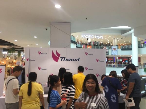 กลุ่มไทยออยล์ ออกบูธ รับสมัครวิ่งมินิมาราธอนเพื่อการกุศล ผู้สนใจสมัครจำนวนมาก