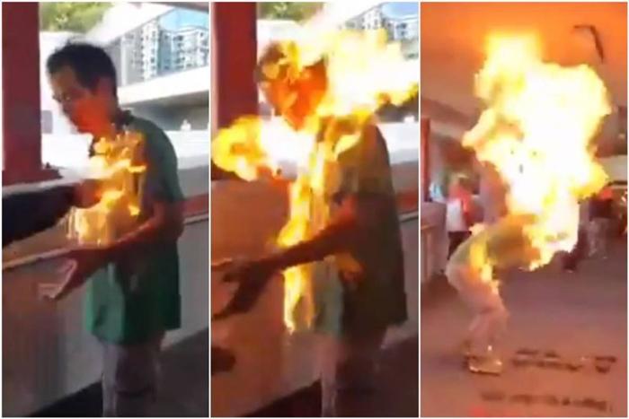 'ฮ่องกงระอุ'ตำรวจใช้กระสุนจริงยิงผู้ประท้วง  ขณะม็อบ'เผาทั้งเป็น'คนเห็นต่าง