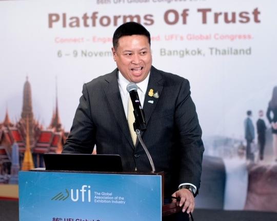 ทีเส็บเผยแผนปี 63 ดันไทยขึ้นแท่น ศูนย์กลางจัดงานแสดงสินค้านานาชาติระดับโลก