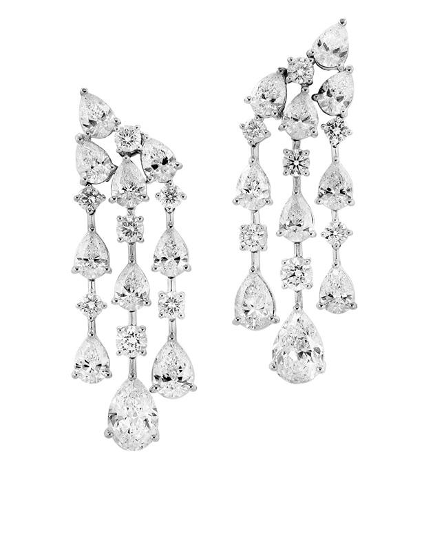 Wedding Earrings  (Aqua Collection)