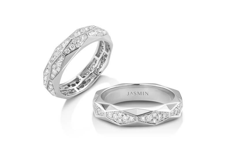 Wedding Ring (The Modest Facet Collection)