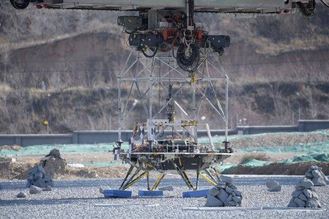 """จีนประสบความสำเร็จทดสอบ """"ยานลงจอด"""" ก่อนส่งไปดาวอังคารปี 2020"""