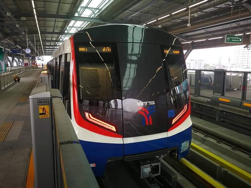 บีทีเอส วิ่งทดสอบขบวนรถใหม่ จากจีน รับเปิดสีเขียวเพิ่ม 4 สถานี