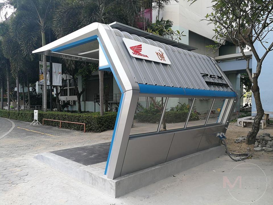 เอ.พี.ฮอนด้า ผุดสถานีชาร์จมอเตอร์ไซค์ไฟฟ้าแห่งแรกในไทย