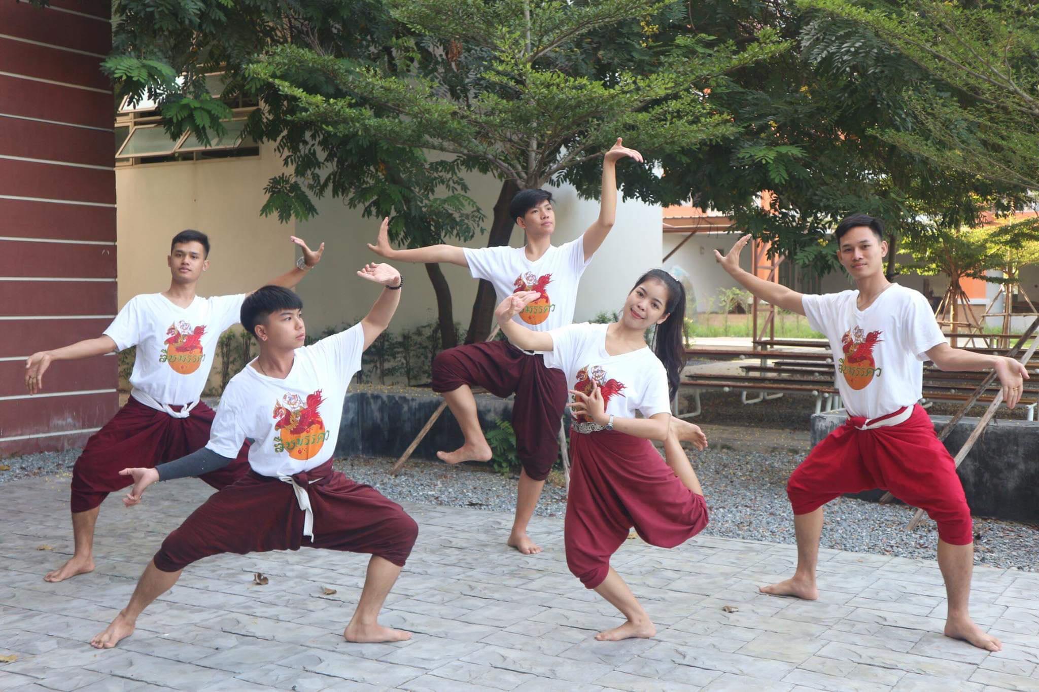 """ฝันอันสูงสุด นศ.มทร.ธัญบุรี ร่วมแสดงโขน """"สืบมรรคา"""""""