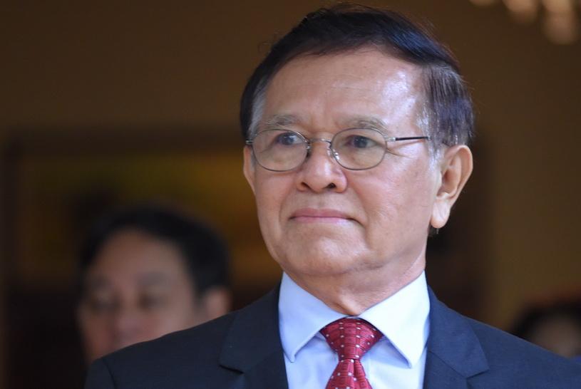 กึม โสะคา (Kem Sokha) หัวหน้าพรรคฝ่ายค้านกู้ชาติกัมพูชา (CNRP)