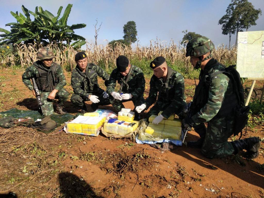 ทหารยึดอีกยานรกเกือบ 4 แสนเม็ด พบคาราวานลอบขนเข้าชายแดนเชียงใหม่