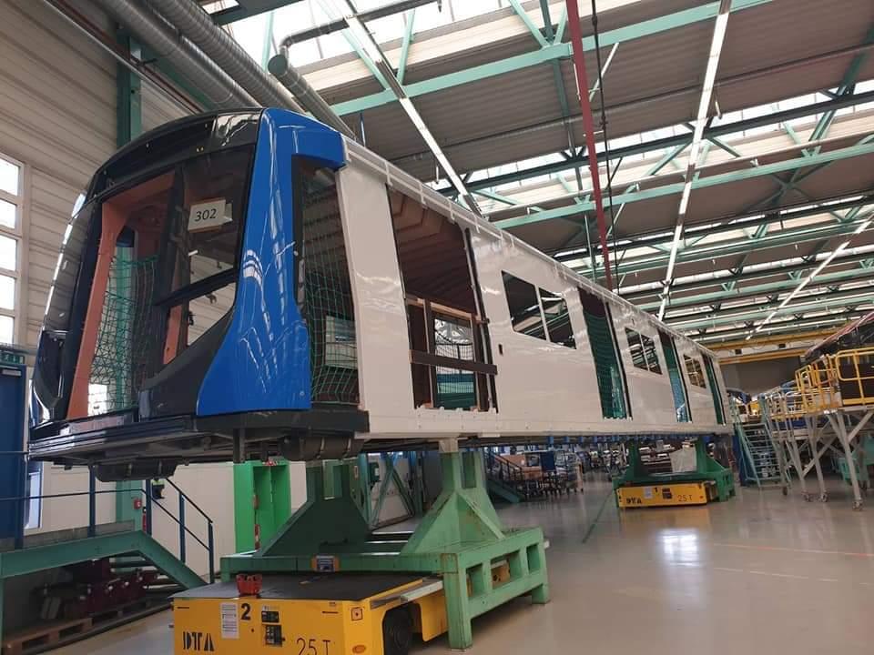 บุกโรงงานซีเมนส์...ผลิตรถไฟฟ้าMRT- BEM ดีไซน์เพิ่มระบบเซฟตี้รองรับผดส.ทุกกลุ่ม